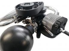 EOS Booster komplett Antrieb , 100 ccm 2-Takter