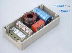Entstörfilter und Relais-Switch
