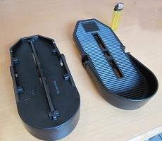 FussPedale , Kunststoff, abrutschsicher, Fußpedal