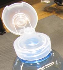 Trinkdeckel f�r Kunststoff -Flasche