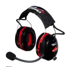 UL-200, UL VOX+ANR Intercom Headset,3 Achser + Trike, MM001A