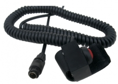 Velcro Mount Curly PTT Switch, MM008