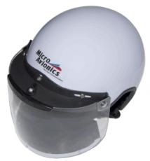 Helmet, Visor, Visor Lock & Neoprene AirDam, MM020A-N