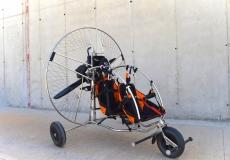 Diamond Evo, Doppelsitziges Motorschirm Trike mit Thor 250