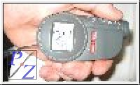 Temperatur Infrarot Messgerät