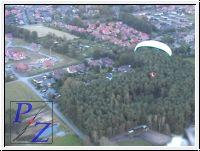 Schapen, Dreierwalde, Altenrheine, Video aus der Pilotensicht