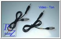 Kabelsatz Audio / Video-Ton - Anschlusskabel