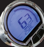 DL-02R D55 Drehzahlmesser - Grafik im Uhrzeigersinn