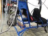 Mustang , Doppelsitziges Motorschirm Trike