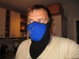 Gesichts Maske, Wärmeschutz, Windschutz