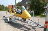 Microlight airplane trailer ( for plane or Gyrocopter )