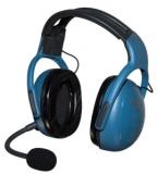 UL-200, UL Intercom Headset 3-Achser , blau , MM001A-BLUE