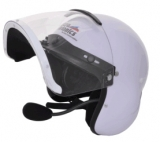 Integral helmet with built in UL-100 headset , MM001B