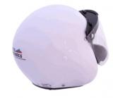 Integral Helmet, , Visor & Neoprene Chin Guard  with built in Fl