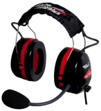 ANR GA Headset, Red/Black Ear defender, MG001A