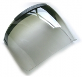 Replacement Half Tint Graduated Visor with Lock, MM023