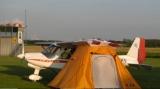 Tragflächen Zelt , ultraleichtes Flugzeugzelt