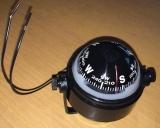Kugel- Kompass ,einstellbar, flüssigkeitsgedämpft