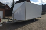 Microlight airplane trailer, closed ( for plane or Gyrocopter )