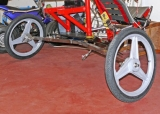Flyke Hinterrad / TrikeRad