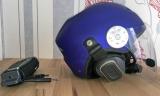 UL Motorschirm Helm Apco Free Air Com III 3 mit Lightspeed Tango