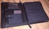Exklusive Lightspeed Leder iPad / Tablet Tasche für Piloten