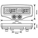 Duales Abgastemperatur-Messgerät mit Fühlern