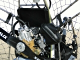 Diamond , Doppelsitziges Motorschirm Trike mit Thor Antrieb komplett aus V2A Edelstahl